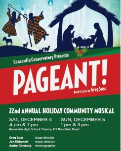 Annual Holiday Community Musical -  PAGEANT!